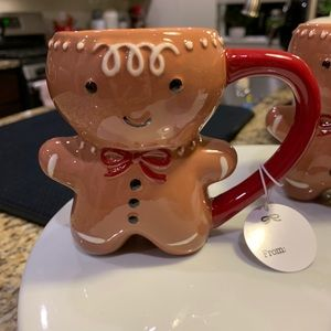 Threshold Gingerbread man mug